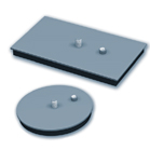Steel Suction Cups with Bonded Seal, 5000 - 6000 series