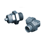 Screwed Vacuum Fittings with O-ring, RDV - RCOV - Y series