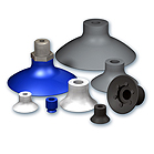 Flat Suction Cups Ø 8 to 75 mm, VP series