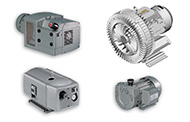 Electric vacuum pumps